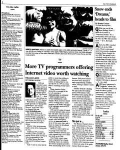 Syracuse Post Standard, August 21, 2005, Page 159