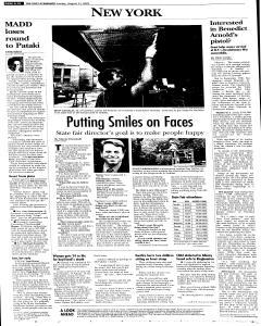 Syracuse Post Standard, August 21, 2005, Page 231