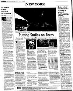 Syracuse Post Standard, August 21, 2005, Page 259