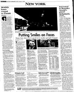 Syracuse Post Standard, August 21, 2005, Page 287