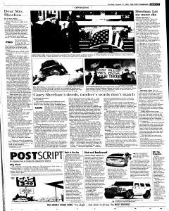 Syracuse Post Standard, August 21, 2005, Page 33