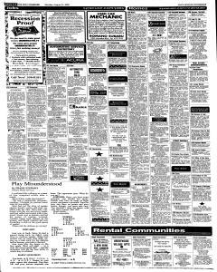 Syracuse Post Standard, August 22, 2005, Page 38