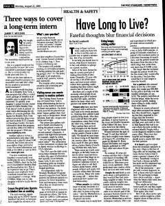 Syracuse Post Standard, August 22, 2005, Page 53