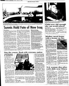 Syracuse Post Standard, August 23, 2005, Page 6