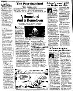 Syracuse Post Standard, August 23, 2005, Page 10