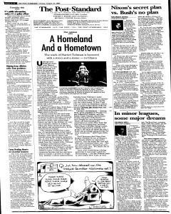 Syracuse Post Standard, August 23, 2005, Page 92
