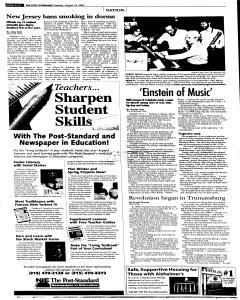 Syracuse Post Standard, August 23, 2005, Page 94