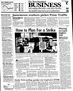 Syracuse Post Standard, August 23, 2005, Page 19