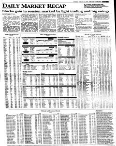 Syracuse Post Standard, August 23, 2005, Page 21