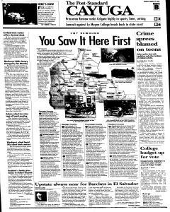 Syracuse Post Standard, August 23, 2005, Page 59