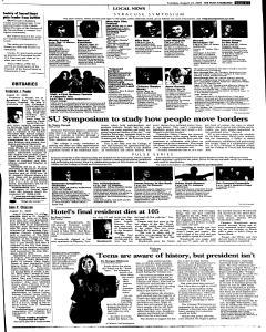 Syracuse Post Standard, August 23, 2005, Page 63