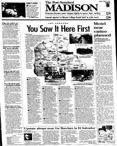Syracuse Post Standard, August 23, 2005, Page 77