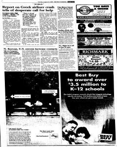 Syracuse Post Standard, August 23, 2005, Page 87