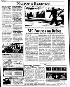 Syracuse Post Standard, August 24, 2005, Page 22