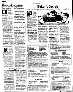Syracuse Post Standard, August 24, 2005, Page 30