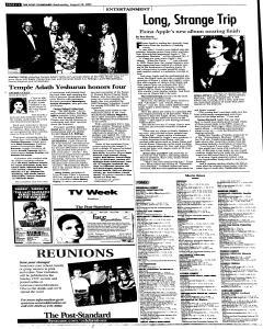 Syracuse Post Standard, August 24, 2005, Page 34