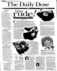 Syracuse Post Standard, August 24, 2005, Page 38