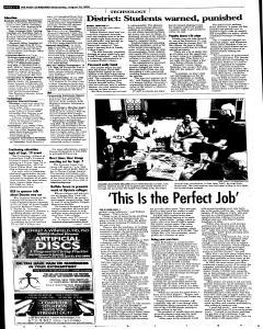 Syracuse Post Standard, August 24, 2005, Page 42