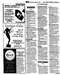 Syracuse Post Standard, August 24, 2005, Page 60