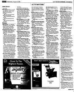 Syracuse Post Standard, August 24, 2005, Page 64