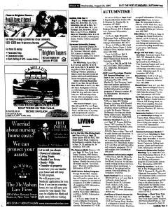 Syracuse Post Standard, August 24, 2005, Page 68
