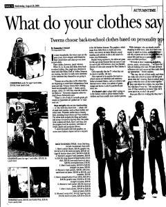 Syracuse Post Standard, August 24, 2005, Page 72