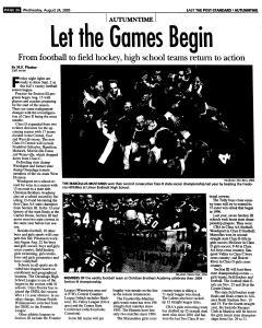 Syracuse Post Standard, August 24, 2005, Page 81