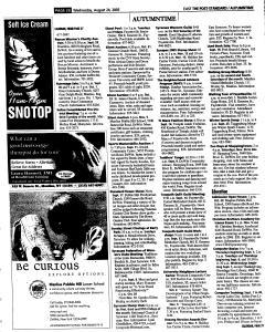 Syracuse Post Standard, August 24, 2005, Page 83