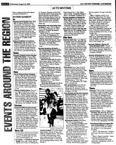 Syracuse Post Standard, August 24, 2005, Page 85