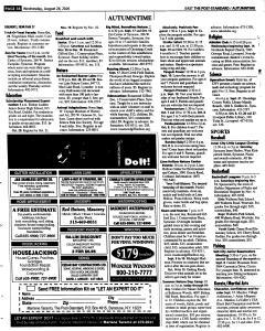 Syracuse Post Standard, August 24, 2005, Page 93