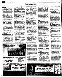 Syracuse Post Standard, August 24, 2005, Page 103