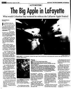 Syracuse Post Standard, August 24, 2005, Page 105
