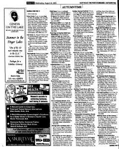 Syracuse Post Standard, August 24, 2005, Page 109