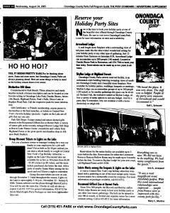 Syracuse Post Standard, August 24, 2005, Page 118