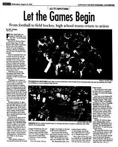 Syracuse Post Standard, August 24, 2005, Page 120