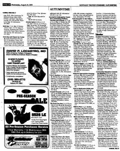 Syracuse Post Standard, August 24, 2005, Page 122