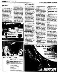 Syracuse Post Standard, August 24, 2005, Page 128