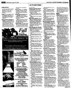 Syracuse Post Standard, August 24, 2005, Page 142