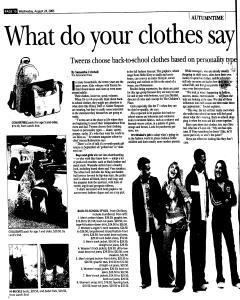 Syracuse Post Standard, August 24, 2005, Page 150