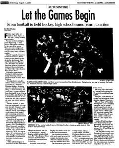 Syracuse Post Standard, August 24, 2005, Page 159