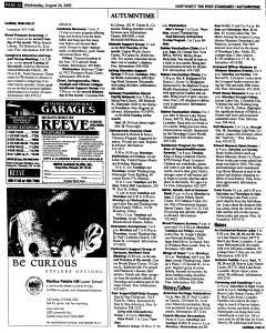 Syracuse Post Standard, August 24, 2005, Page 165