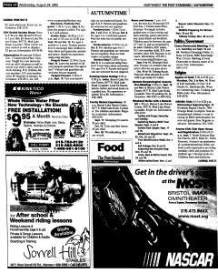Syracuse Post Standard, August 24, 2005, Page 167