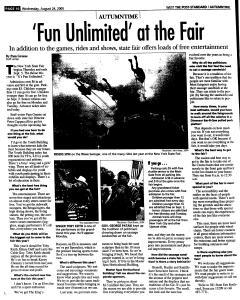 Syracuse Post Standard, August 24, 2005, Page 222