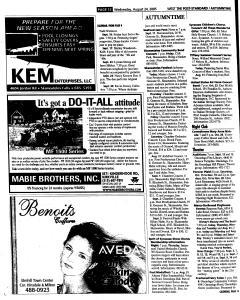 Syracuse Post Standard, August 24, 2005, Page 224