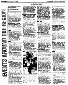 Syracuse Post Standard, August 24, 2005, Page 241