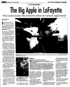 Syracuse Post Standard, August 24, 2005, Page 245