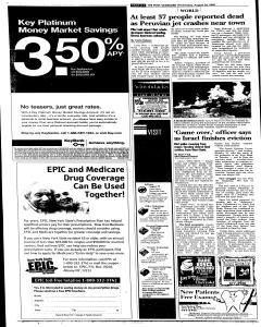 Syracuse Post Standard, August 24, 2005, Page 254