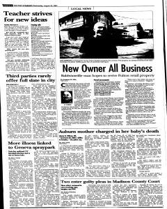 Syracuse Post Standard, August 24, 2005, Page 282