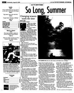 Syracuse Post Standard, August 24, 2005, Page 306