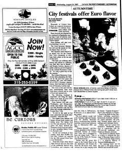 Syracuse Post Standard, August 24, 2005, Page 308
